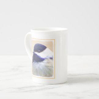 Chickadee Tea Cup