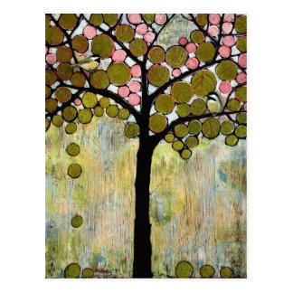Chickadee Tree Postcard