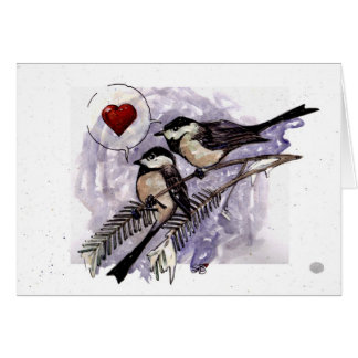 Chickadees Card