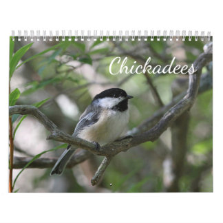 Chickadees Wall Calendars