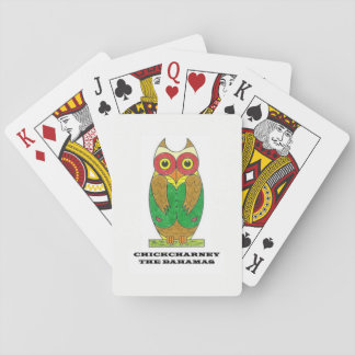 Chickcharney playing cards