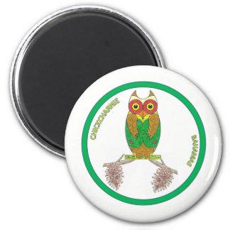 Chickcharnie round magnet