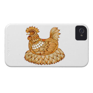 Chicken 2 iPhone 4 cover
