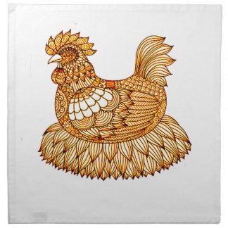 Chicken 2 napkin