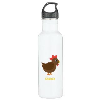 Chicken 710 Ml Water Bottle