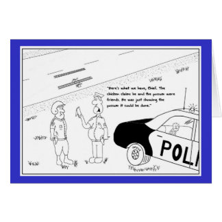 Funny Police Birthday Cards, Invitations, Photocards & More