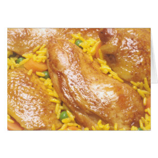 Chicken and Rice Card