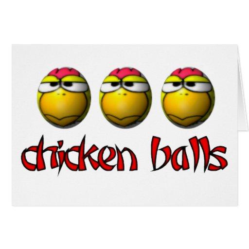 Enjoy These Funny Cartoon Chicken Balls Original Digital Art