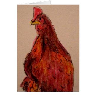 Chicken Blank Card