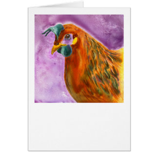 "Chicken Card - ""Henny Penny"""