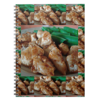 Chicken Chefs American healthy eating food cuisine Spiral Note Book
