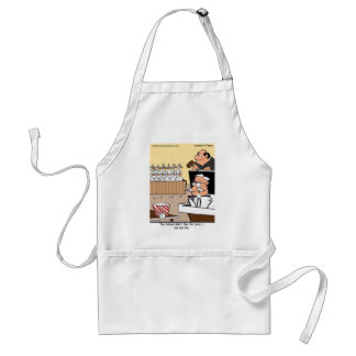 Chicken Courtroom Drama Funny Gifts & Tees Standard Apron