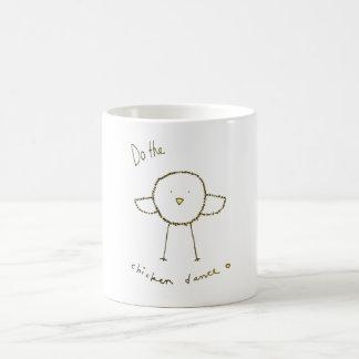 Chicken dance coffee mug