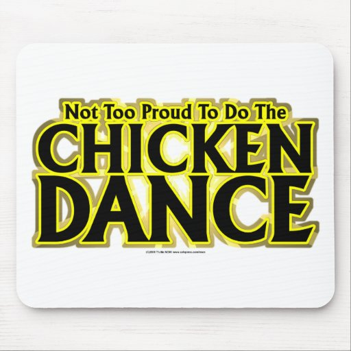Chicken Dance Mouse Pad