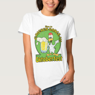 Chicken Dance Oktoberfest T-shirts