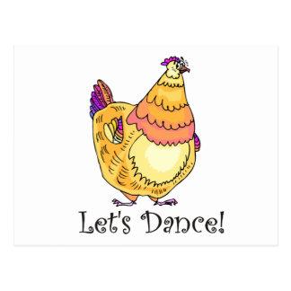 Chicken Dance Postcards