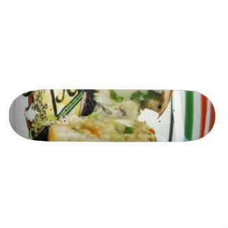 Chicken Dinner Stuffed Stuffing Skate Board Deck