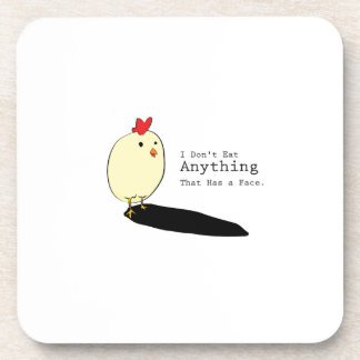 Chicken Egg Vegetarian s I Don't Eat Anythings Coaster