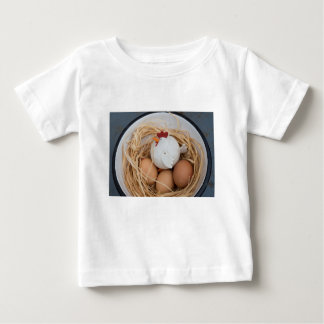 Chicken & eggs baby T-Shirt