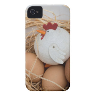 Chicken & eggs iPhone 4 covers