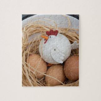 Chicken & eggs jigsaw puzzle