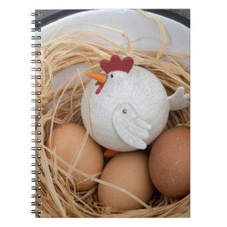 Chicken & eggs notebooks