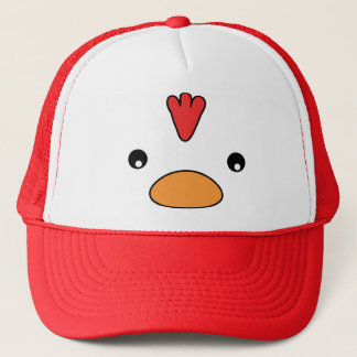 Chicken Face Hat