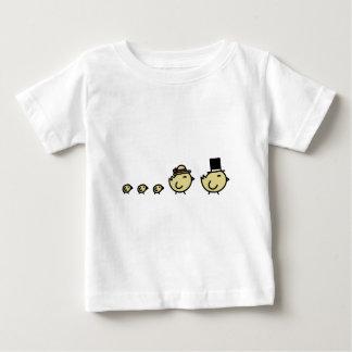 Chicken Family Baby T-Shirt