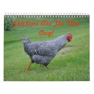 Chicken Farmyard Calendar