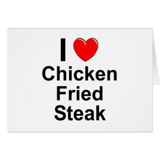 Chicken Fried Steak Card