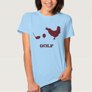 CHICKEN GOLF TSHIRT