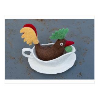 Chicken gravy postcard