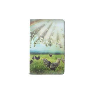 Chicken Heaven Pocket Moleskine Notebook