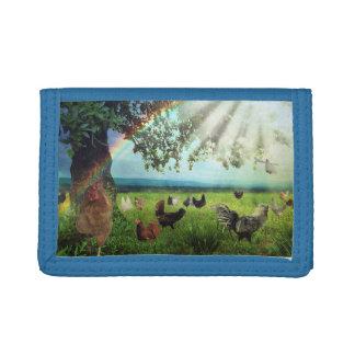 Chicken Heaven Trifold Wallet