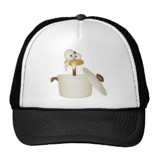Chicken In Soup Trucker Hat