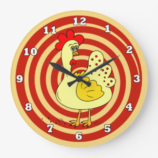 Chicken Kitchen Wall Clock