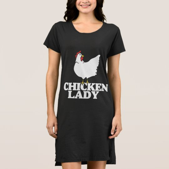 Chicken lady dress
