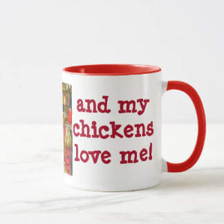 Chicken love! mug