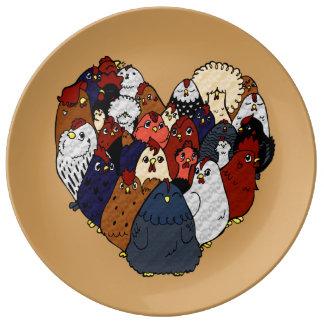 Chicken Love Plate