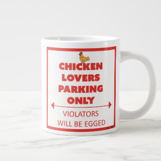 Chicken Lovers Parking Only Mug