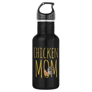 chicken mom 532 ml water bottle