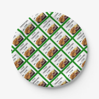 chicken nuggets paper plate