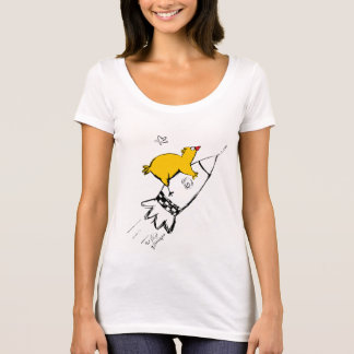 Chicken on the rock T-Shirt
