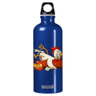 chicken on the rocket. SIGG traveller 0.6L water bottle