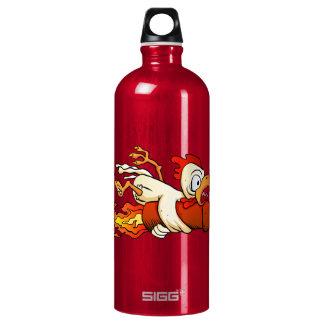 chicken on the rocket. SIGG traveller 1.0L water bottle
