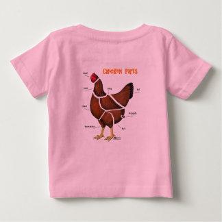Chicken Parts Baby T-Shirt
