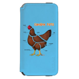 Chicken Parts Incipio Watson™ iPhone 6 Wallet Case