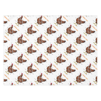 Chicken Parts Tablecloth