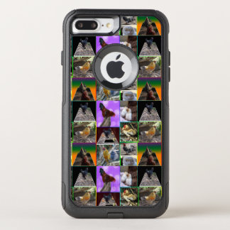 Chicken Photo Collage,  iPhone 7 Plus Case