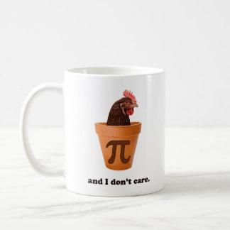 Chicken Pot Pi (and I don't care) Mug